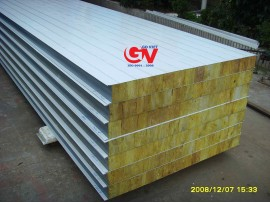 SANDWICH PANEL ROCKWOOL